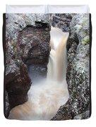 Temperance River State Park Four Duvet Cover
