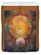 Temple #1 Duvet Cover