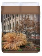Temple Landscaping Duvet Cover