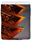 Temple Lights Duvet Cover