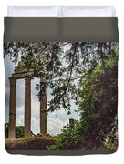 Temple Of Castor And Pollux Duvet Cover