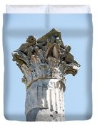 Temple Of Ceres Duvet Cover