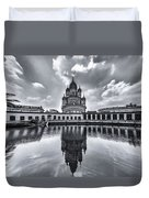 Temple Of Reflction Duvet Cover