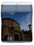 Temple Of Romulus Duvet Cover