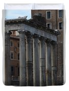 Temple Of Saturn Duvet Cover