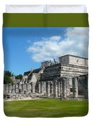 Temple Of The Warriors Duvet Cover