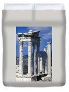 Temple Of Trajan View 1 Duvet Cover