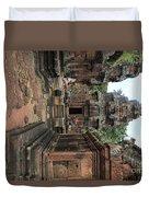 Temples Siem Reap Cambodia Worship  Duvet Cover