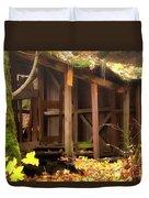 Temporary Shelter Duvet Cover