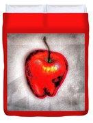 Temptation Apple Duvet Cover