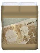 Ten Euro Note Duvet Cover