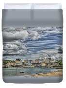Tenby Harbour Texture Effect Duvet Cover