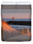 Tender Beach Light Duvet Cover