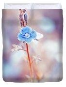 Tender Forget-me-not Flower Duvet Cover