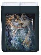 Tender Kiss Duvet Cover