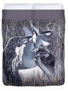 Tenderness And Beauty Duvet Cover