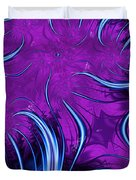 Tendrils Through The Mists Of Time Duvet Cover