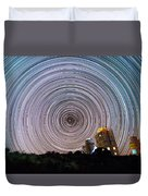 Tenerife Star Trails Duvet Cover