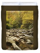Tennessee Autumn Stream 6059 Duvet Cover