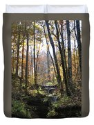 Tennessee Falls Duvet Cover