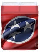 Tennessee State Flag Duvet Cover