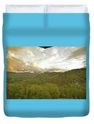 Tennessee Sunset Duvet Cover