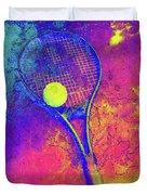 Tennis Art Version 1 Duvet Cover