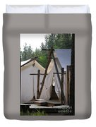 Tent Living Montana Duvet Cover