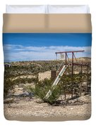 Terlingua Ghost Town #5 Duvet Cover