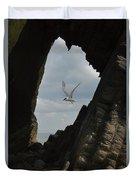 Tern Through The Gap Duvet Cover