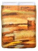 Terra Rossa Duvet Cover