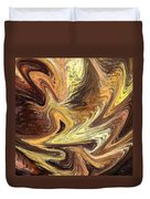 Terrestrial Fire Abstract Duvet Cover