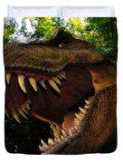 Terrible Lizard Duvet Cover