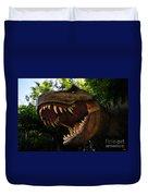 Terrible Lizard Duvet Cover by David Lee Thompson