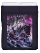 Terror From The Deep Duvet Cover