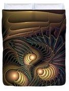 Tertiary Harmonics Duvet Cover