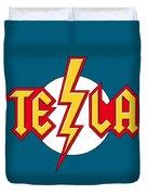 Tesla Bolt Duvet Cover