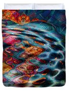 Tesseralien Griddle Duvet Cover