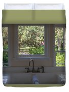 Window Over The Sink Duvet Cover