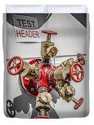 Test Header Duvet Cover