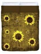 Test Rustic Sunflower Custom Duvet Cover