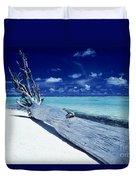 Tetiaroa Driftwood Duvet Cover