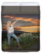 Tetom Sunset 1 Duvet Cover