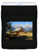 Teton Barn 4 Duvet Cover