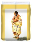 Teton Dacota Indian Woman II Duvet Cover