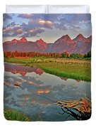 Teton Reflection Duvet Cover