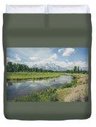 Teton Reflections Duvet Cover