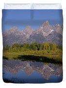 Teton Sunrise 2 Duvet Cover