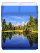 Teton Tranquility Duvet Cover