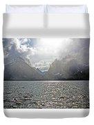 Tetons At Jenny Lake Duvet Cover